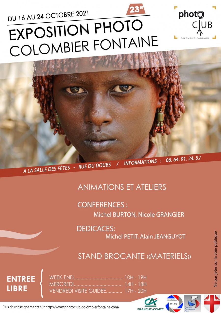 Exposition photo du club de Colombier fontaine